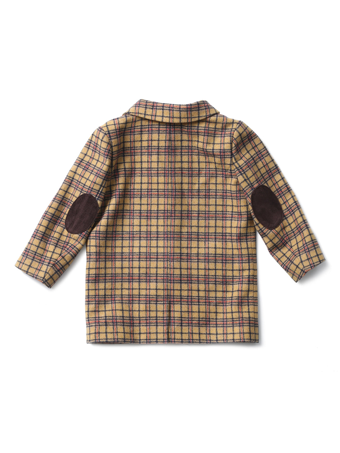 (Kids) Sleeve patch detailed Coat