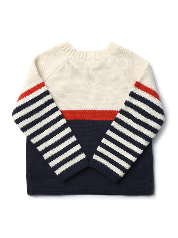 Neck button Sweater