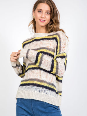 The Kyra Striped Sweater