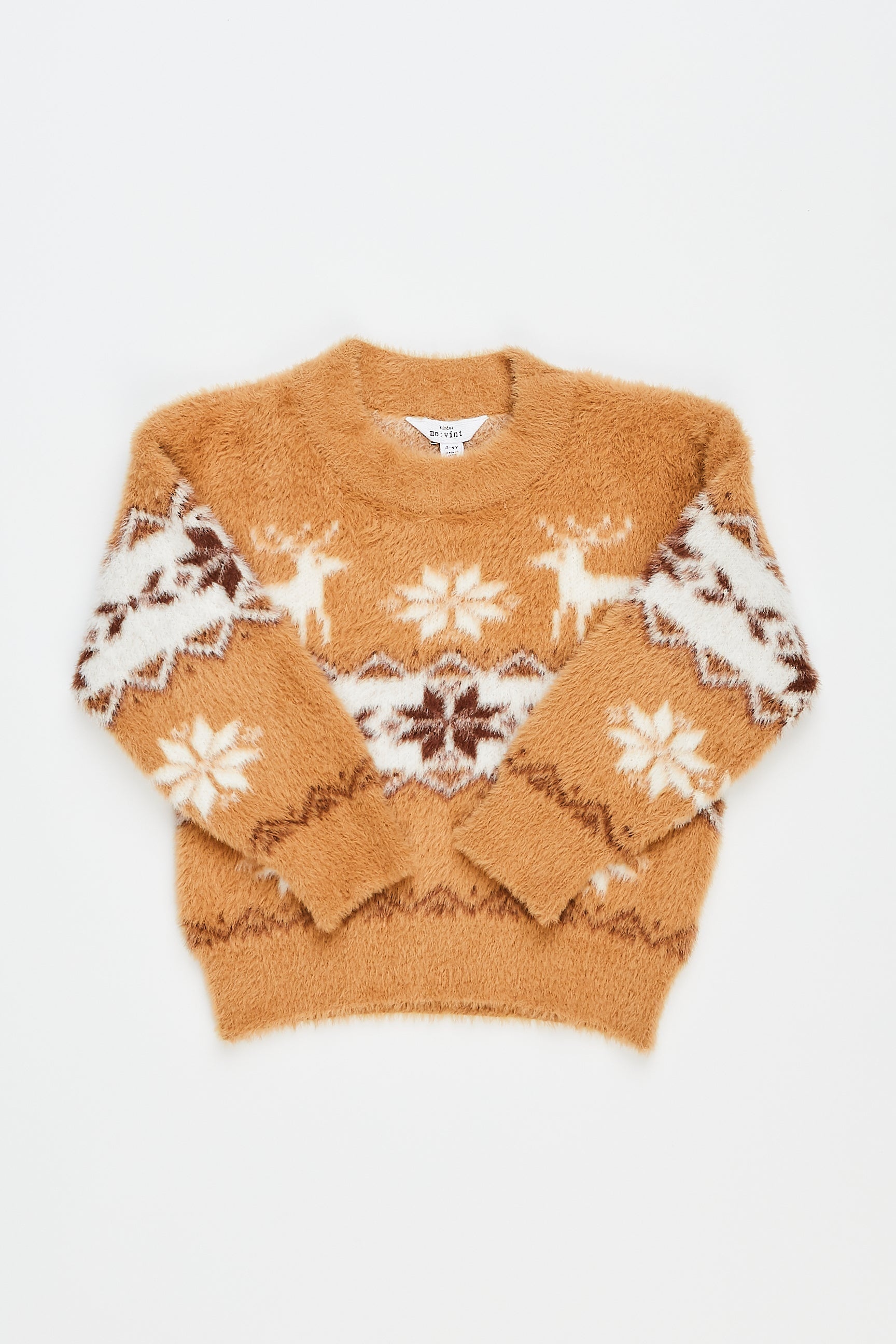 [KIDS] PEYTON FLEECE SWEATER