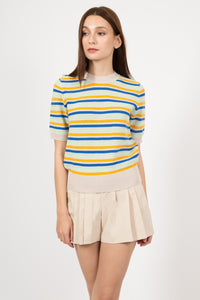 ASH STRIPED TOP