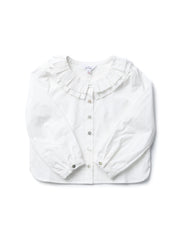 Pleated collar shirts