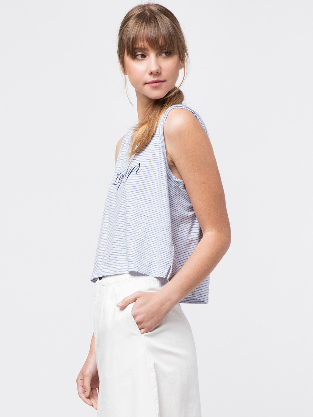 Zephyr Embroidered Tank Top