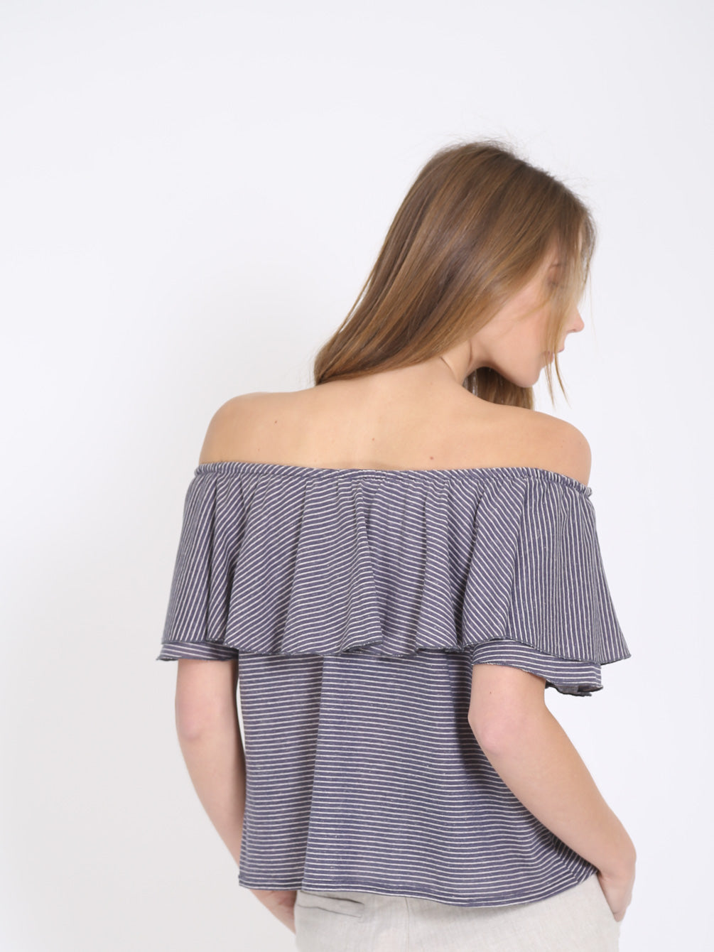 The Emma Off Shoulder Top
