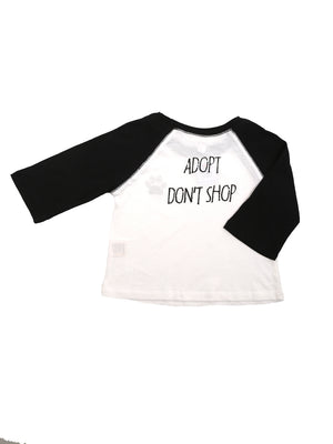 (Kids) The 'Adopt Don't Shop' Tee