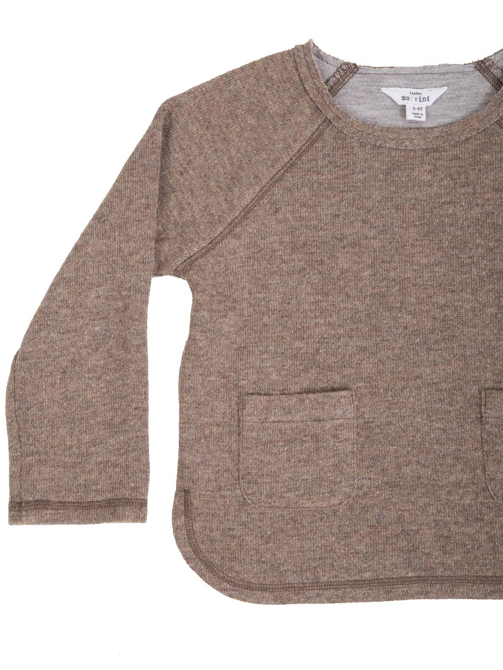 (Kids) Double Pocket Long Sleeve