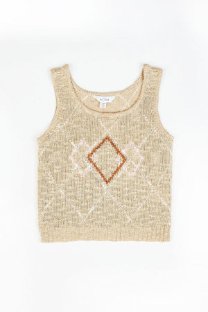ANGIE SWEATER TANK