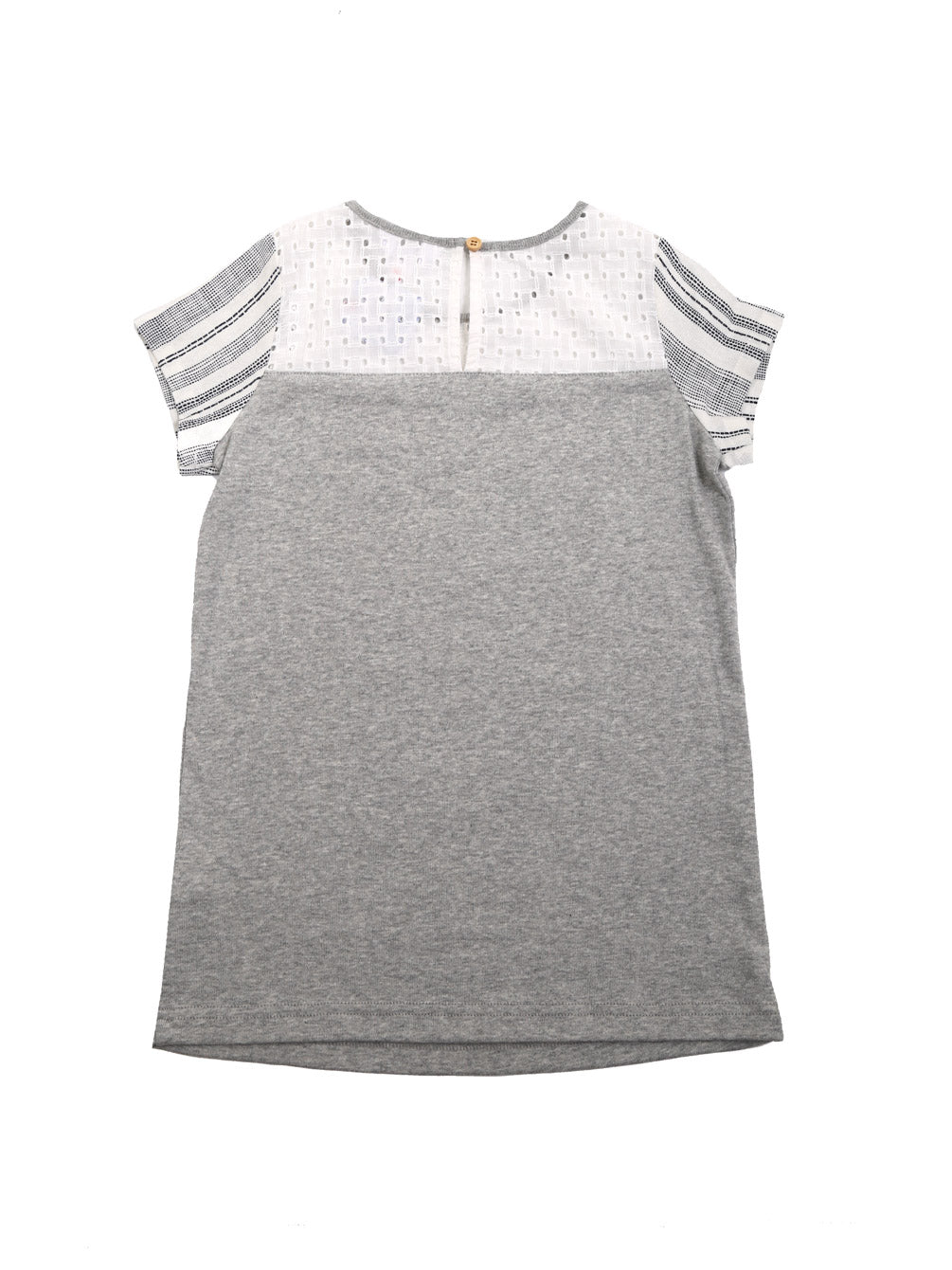 (Kids) Round Neck Cap Sleeve Dress