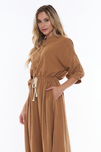 JULIET BUTTON FRONT DRESS