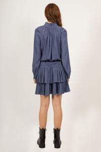 BLAIR PLEATED DRESS
