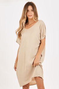 Alex twisted back dress