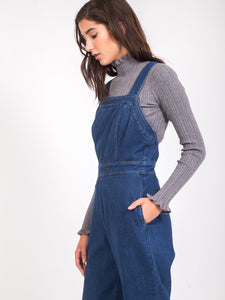 The Brigitte Denim Jumpsuit