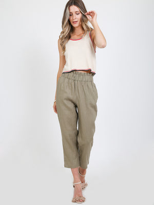 The Addie Linen Pants