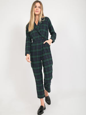 The Oakley Plaid Jumpsuit