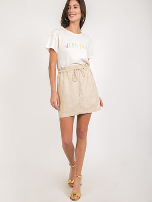 Gillian Linen Skirt