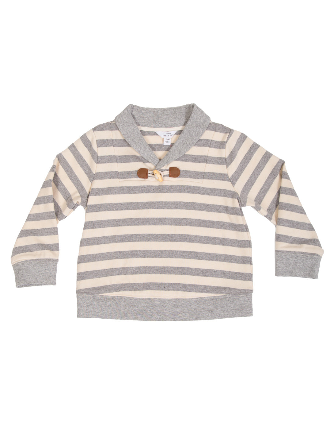 (Kids) Shawl Collar Long Sleeve