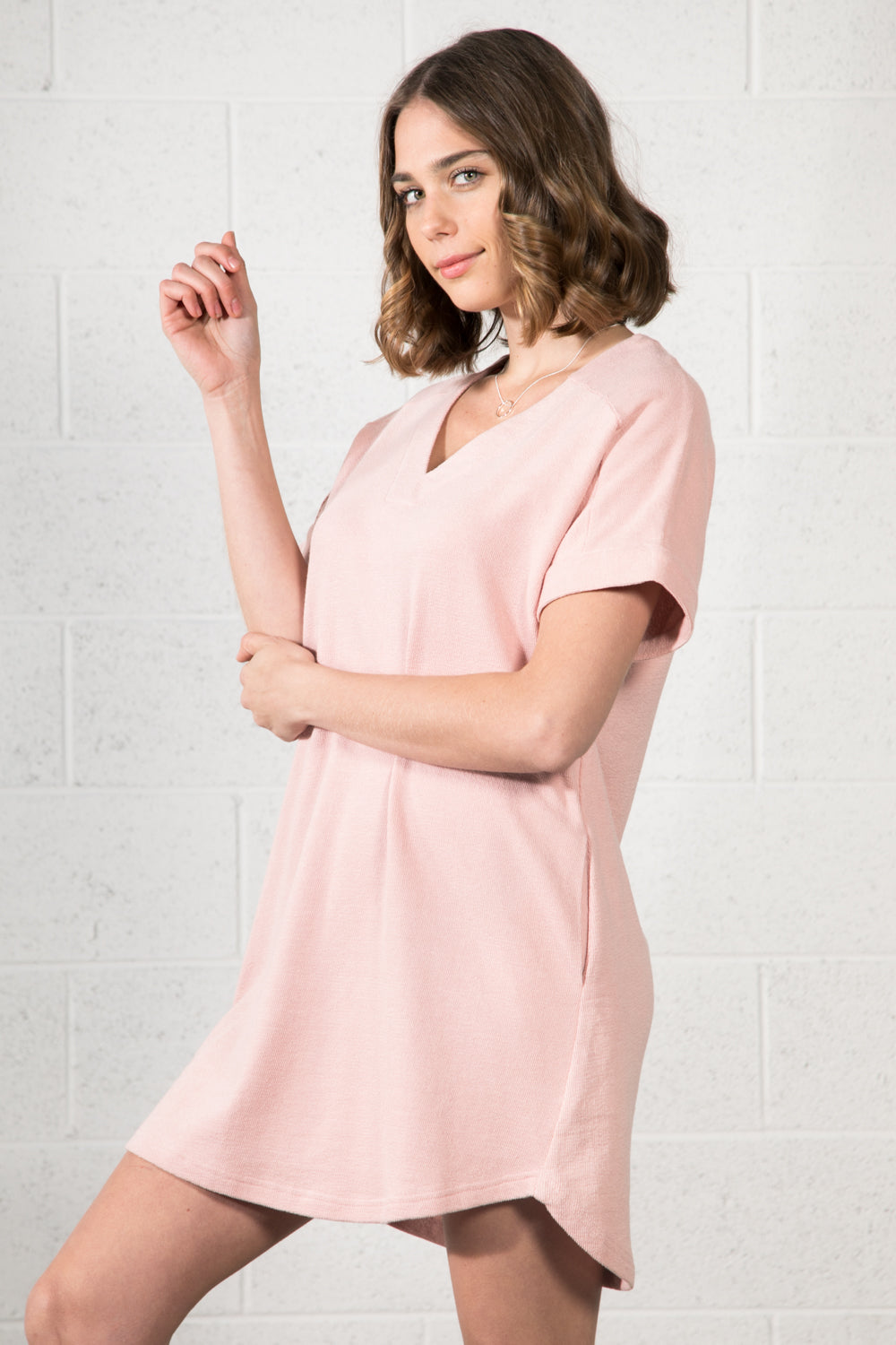 Janice Pocket Shirt Dress
