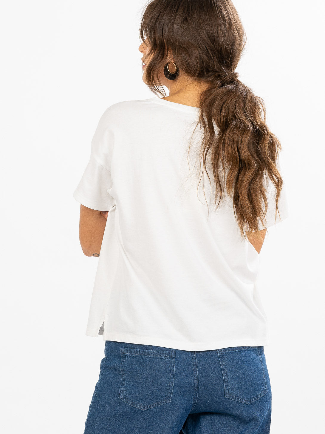 Horizon Embroidered Tee
