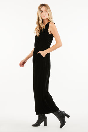GIA SCALLOPED JUMPSUIT
