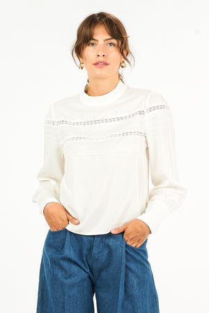 Nicole Long Sleeve Blouse