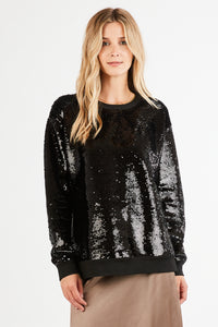 LANA SEQUIN TOP