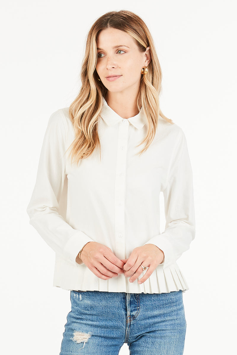 Arielle Button Up Top
