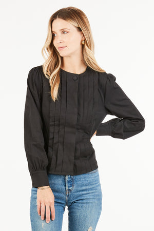 Carol Pleated Blouse