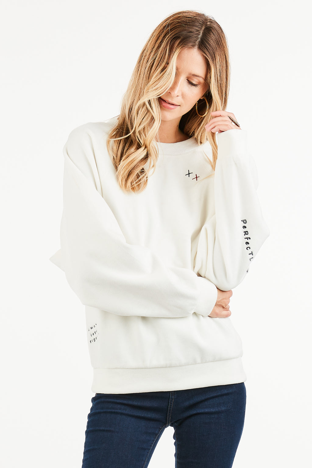"""PERFECTLY IMPERFECT"" SUPER SOFT PULLOVER"