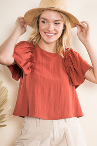 Sydney Short Sleeves Top