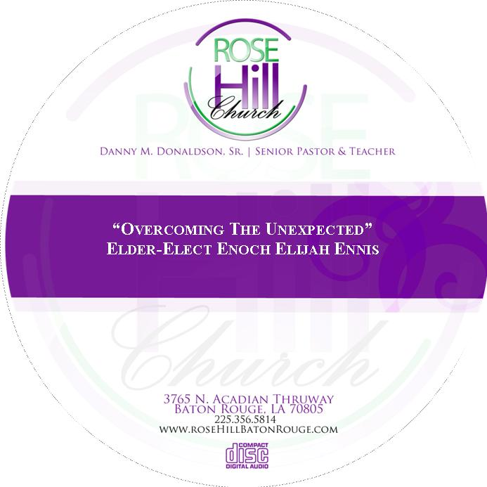 Overcoming The Unexpected - 06/09/19