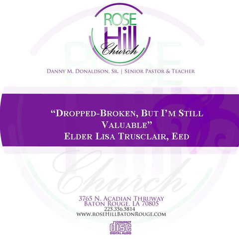 Dropped-Broken, But I'm Still Valuable - Elder Truscliar