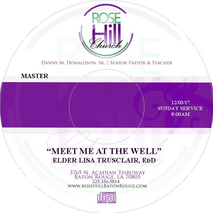 Meet Me At The Well - Elder Lisa Trusclair