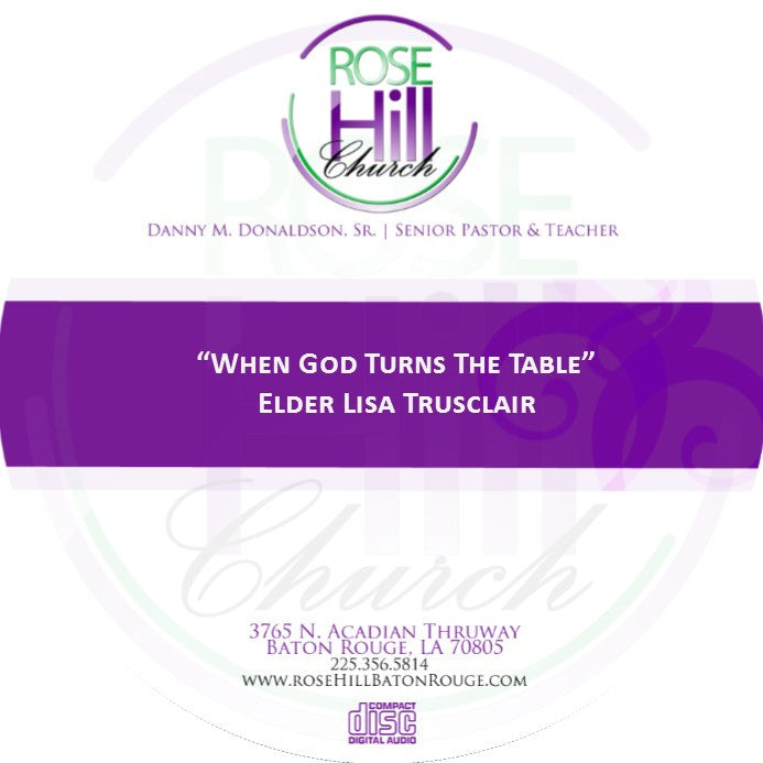 When God Turns The Table-Eld. Trusclair (CD)