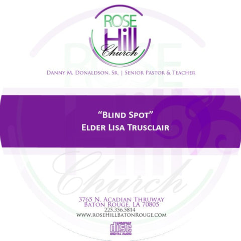 Blind Spot - Eld. Trusclair (CD)