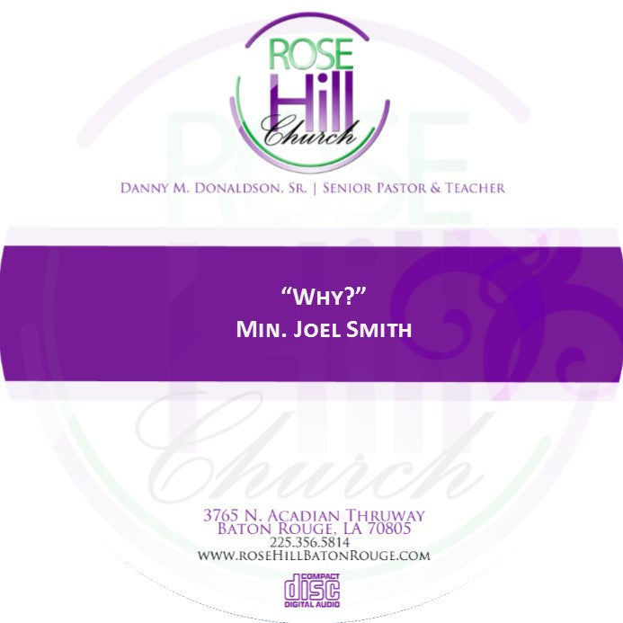 Why? Min. J. Smith (CD)