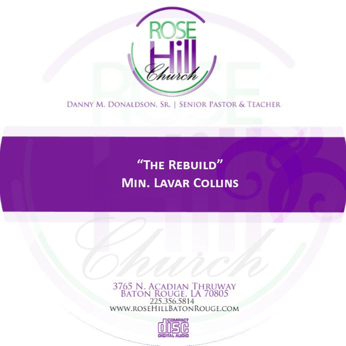The Rebuild - Min. Collins (CD)