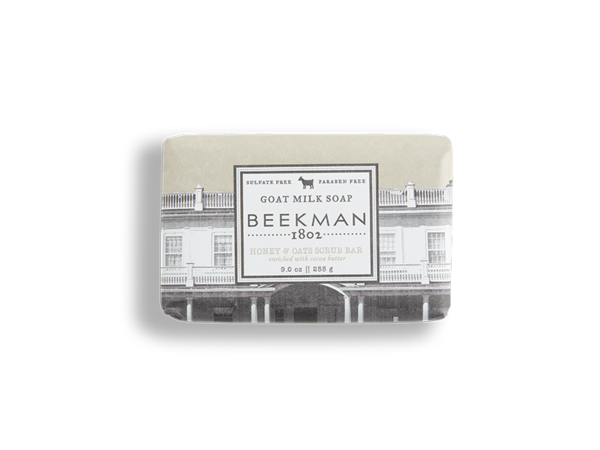 Honey & Oats Goat Milk Soap - Beekman 1802