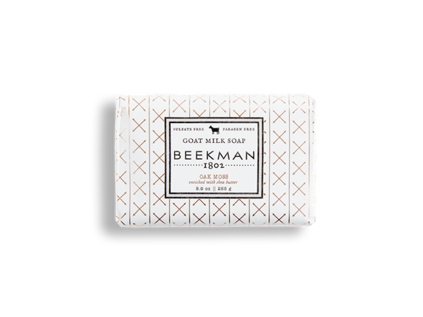 Oak Moss Goat Milk Soap - Beekman 1802