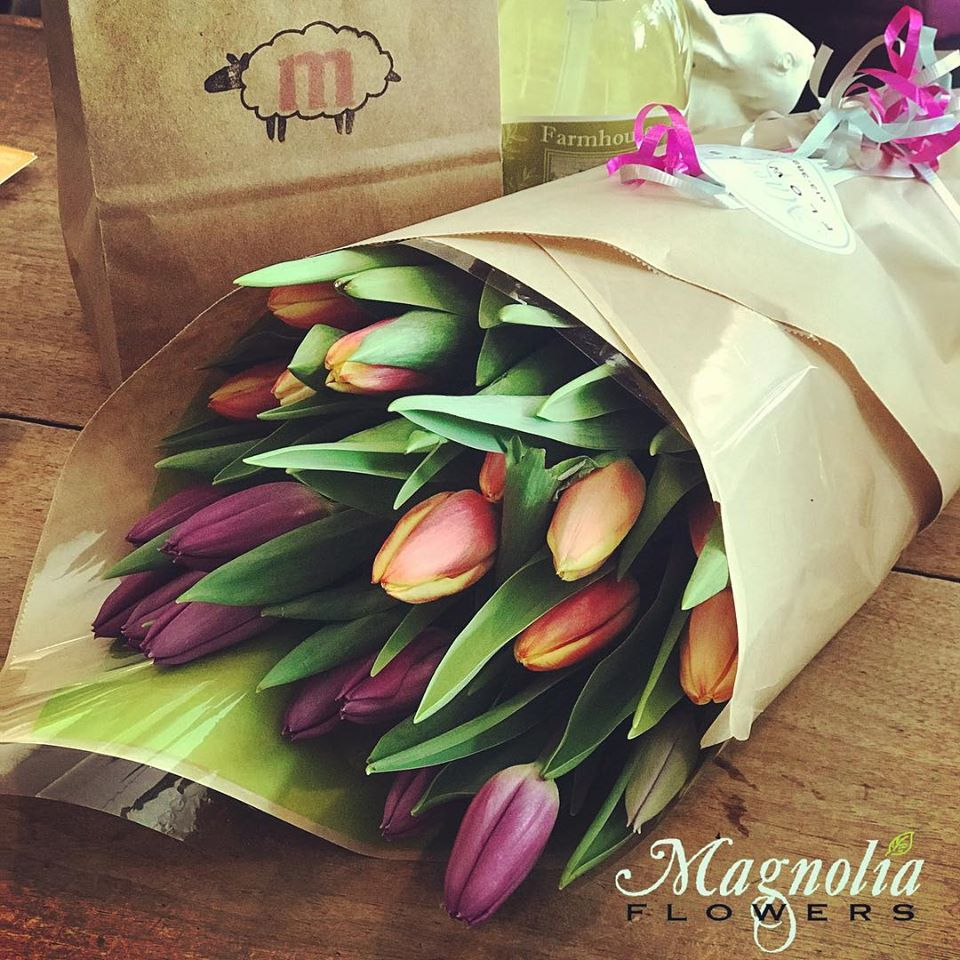 Magnolia Flowers Gift Card
