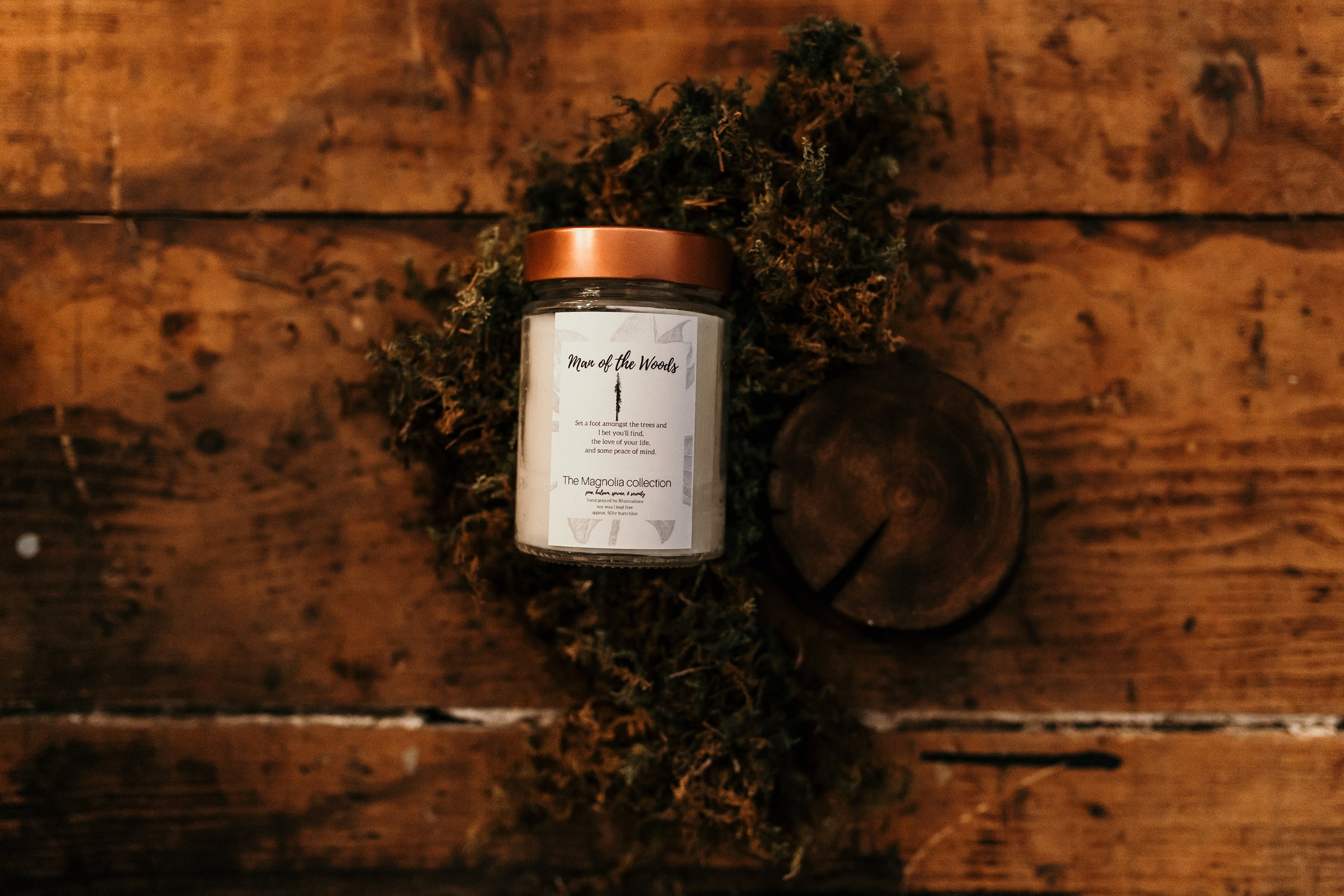 Man of the Woods Candle - The Magnolia Collection
