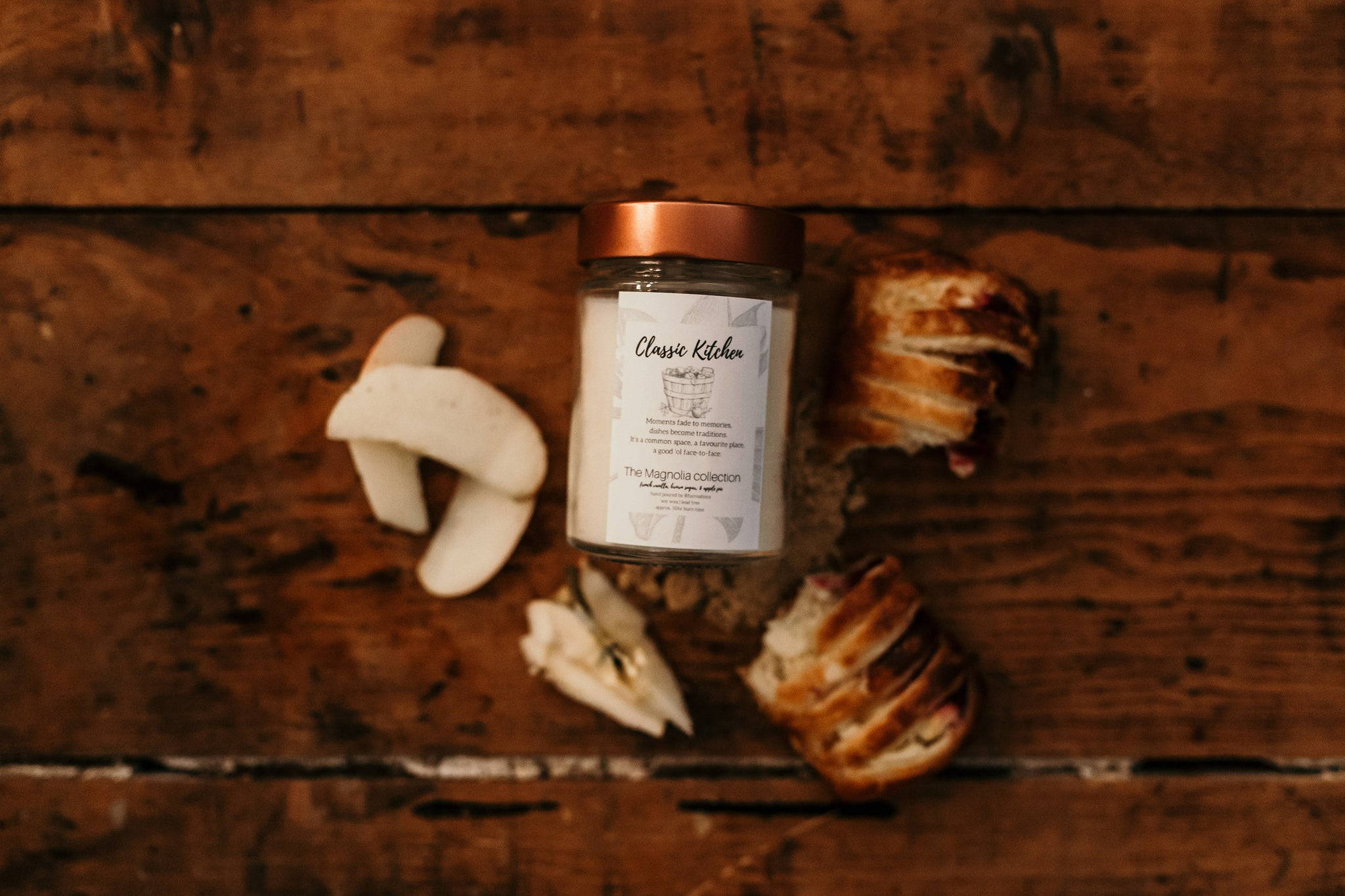 Classic Kitchen Candle - The Magnolia Collection