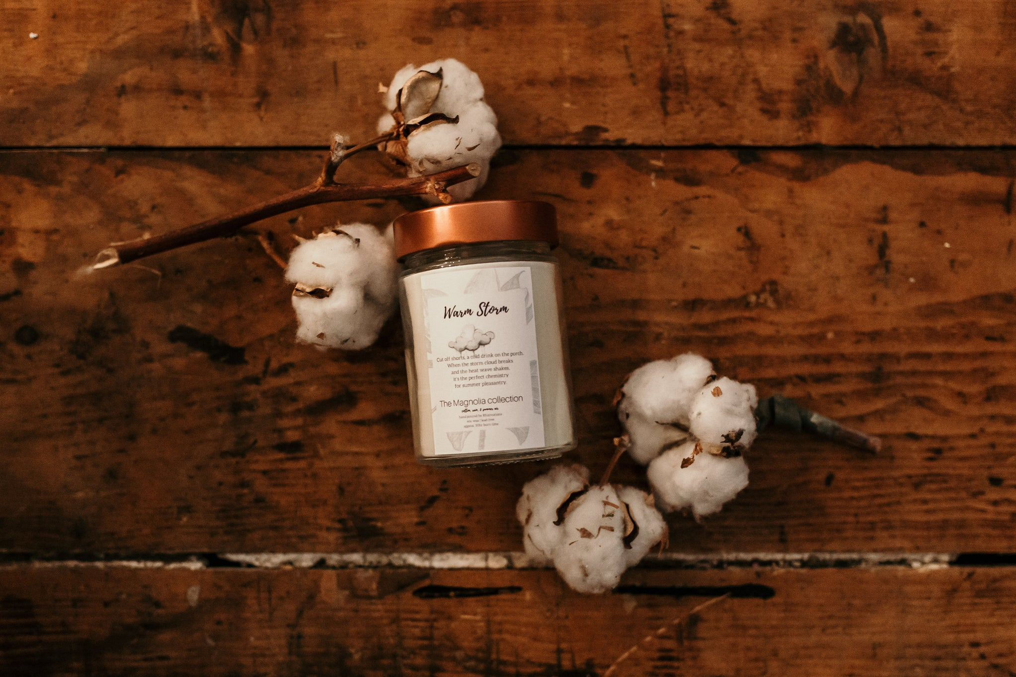 Warm Storm Candle - The Magnolia Collection