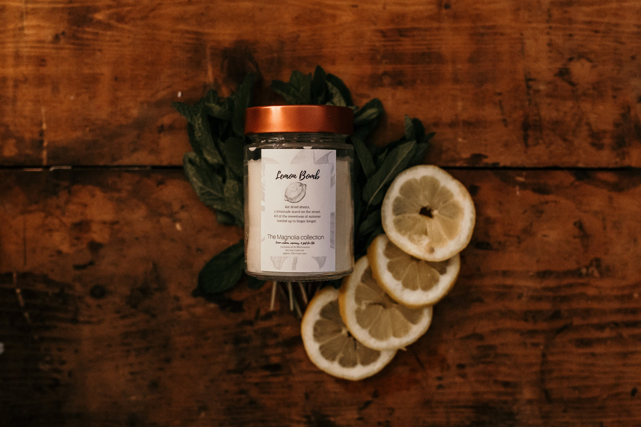 Lemon Bomb Candle - The Magnolia Collection
