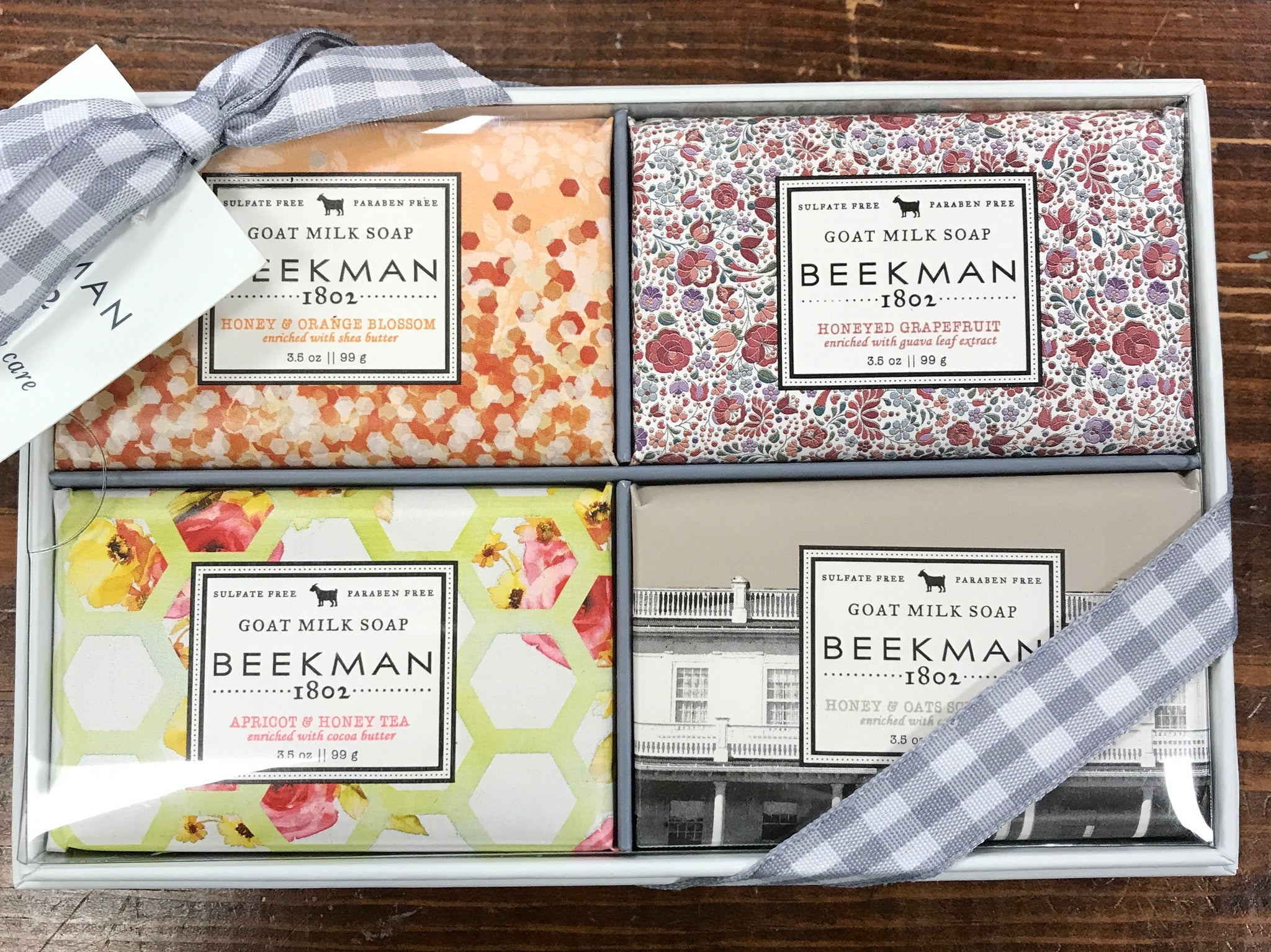 Goat Milk Soap 3.5oz Sampler Set - Beekman 1802