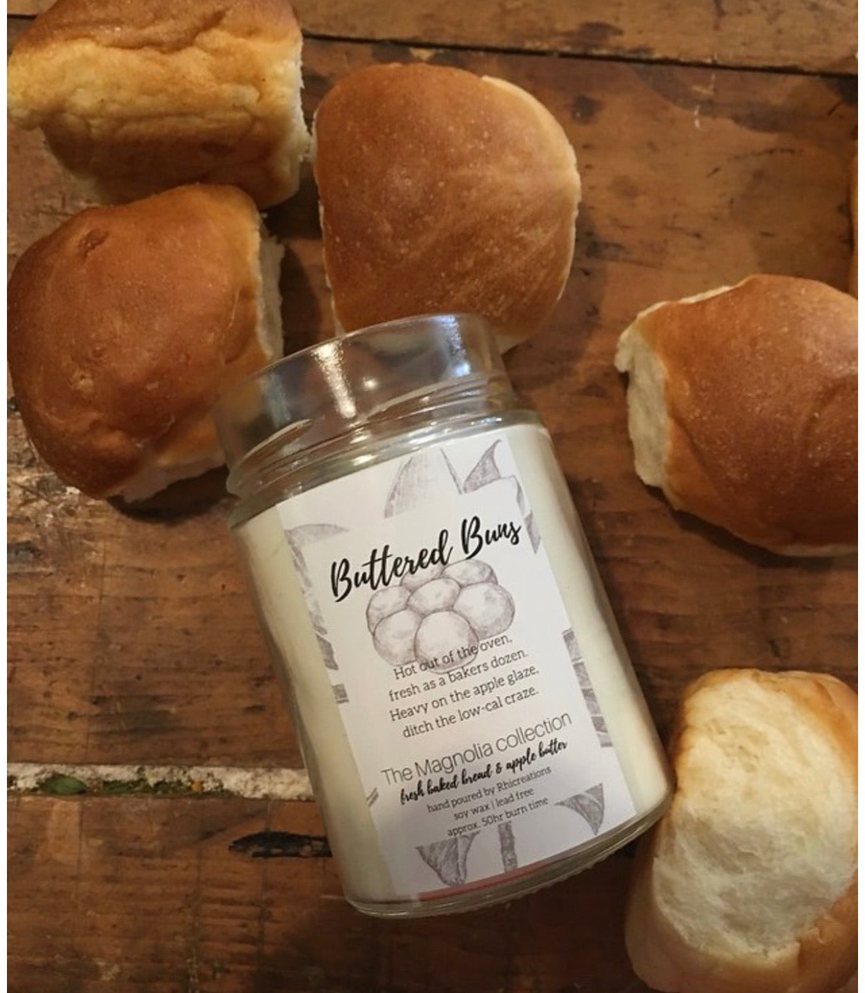 Buttered Buns Candle - The Magnolia Collection