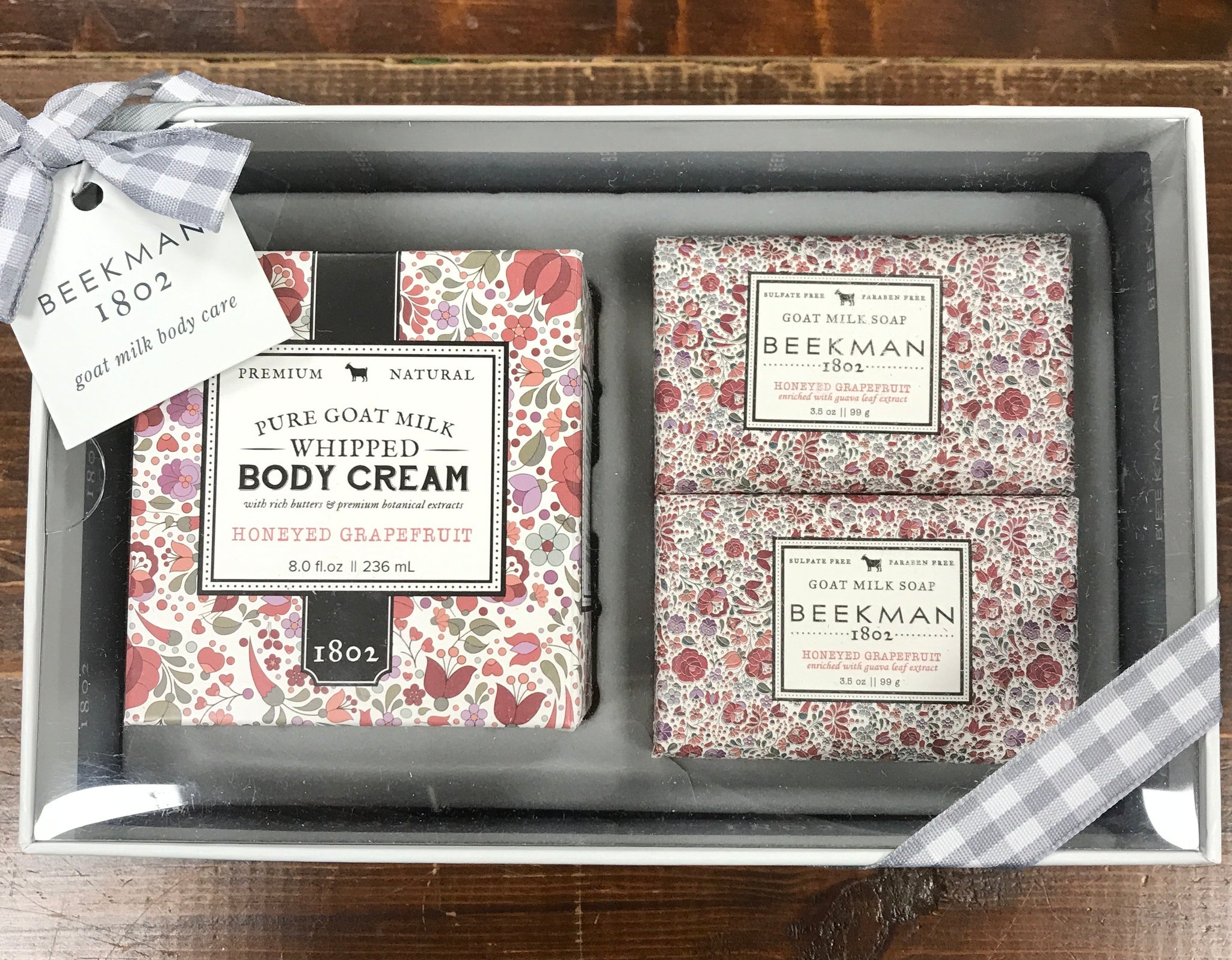 Goat Milk Honeyed Grapefruit Sampler Set - Beekman 1802