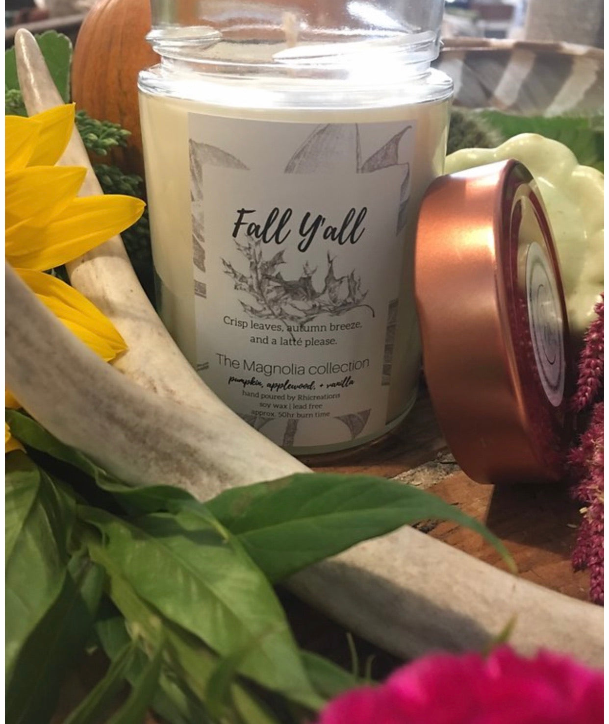 Fall Y'all Candle - The Magnolia Collection