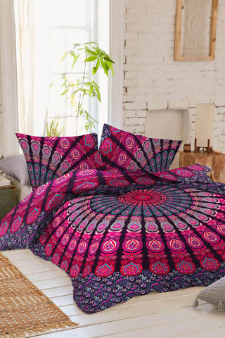 copy pillow cover queen thinking included bluspirits two hamsa duvet of magical size large full cotton products boho covers mandala lucky hand sets