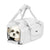 Snow White Quilted Pet Carrier