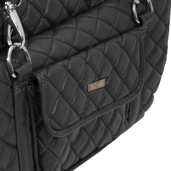 Midnight Quilted Pet Carrier